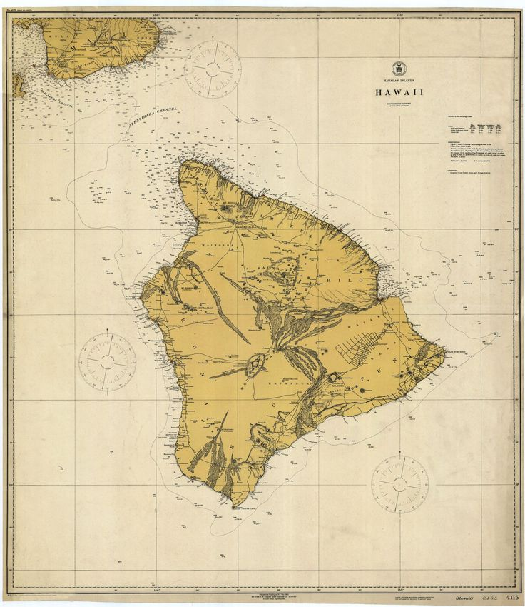 A beautiful, high quality print of the historical map of Hawaii from 1917. This map is professionally printed on top of the line digital equipment. It is printed on high quality paper in authentic col