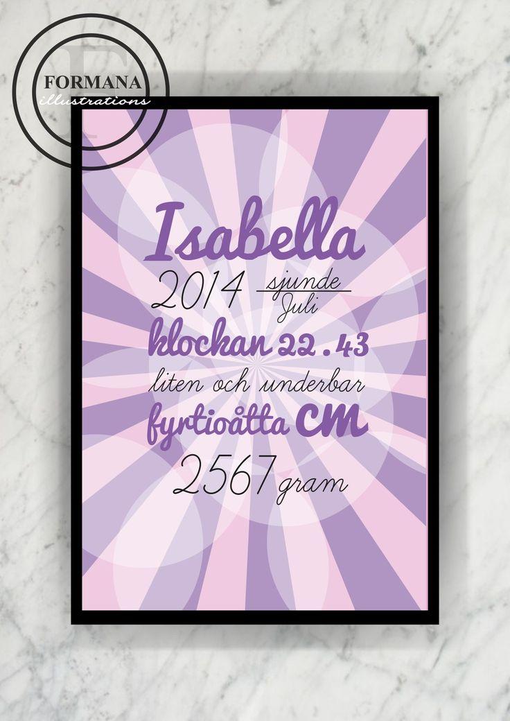 Namntavla Isabella via Formana. Click on the image to see more!