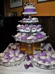 cupcake tower vs wedding cake 17 best ideas about purple wedding cupcakes on 13156