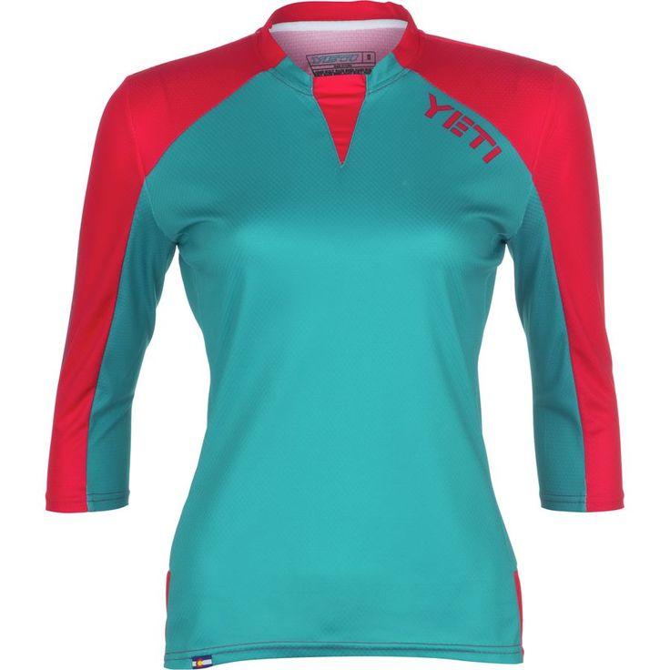 Yeti Cycles - Enduro Jersey - 3/4-Sleeve - Women's - Coral
