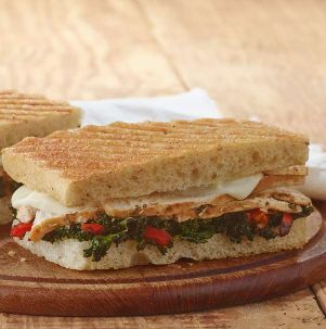 Roasted Turkey & Caramelized Kale Panini From Panera Bread is 280 Calories and 8 Weight Watcher's Smart Points.