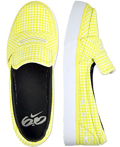 Yellow Nike 6.0 Balsa shoes