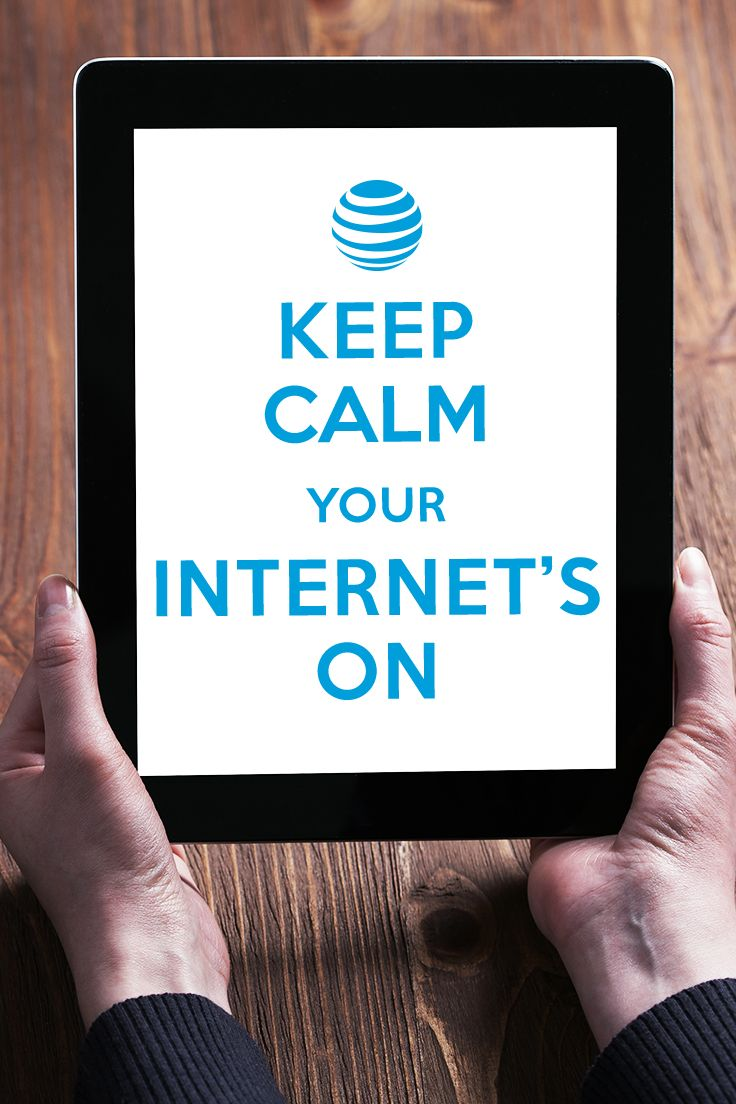 Click to learn more! We've all done it: freaked out over a lost connection. Stop crossing your fingers for a signal and troubleshooting for a lost one. Internet from AT&T is 99.9% reliable so all your favorites are never more than a tap or click away. Reliability claim applies to U-verse® High Speed Internet service. Geo. & svc. restr. apply.