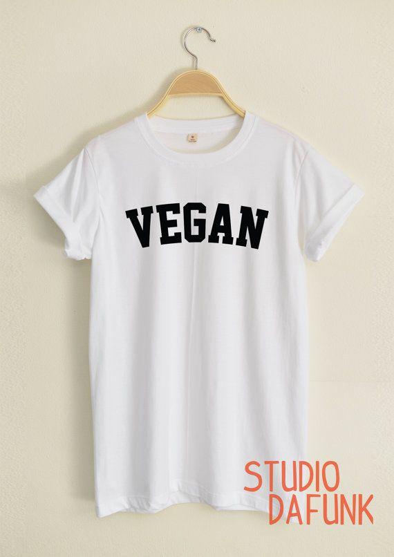 VEGAN shirts hipster street unisex women&men by StudioDafunk                                                                                                                                                                                 More