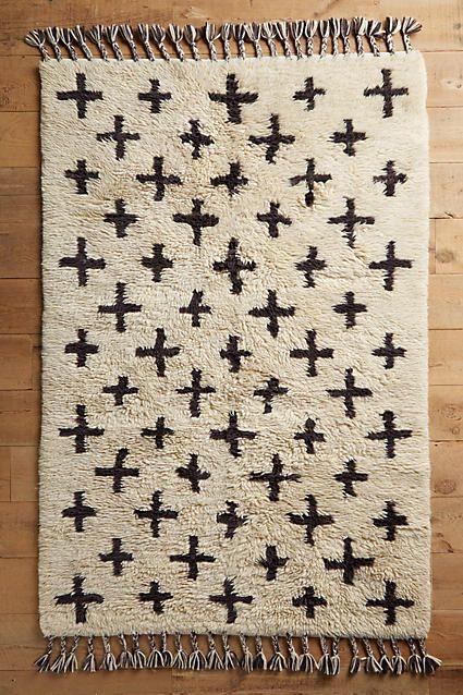 Moroccan Cross Rug - anthropologie.com