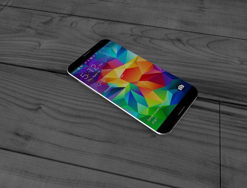 Samsung Galaxy S6 Concept Shows Sleek New Design with Razor-Thin Bezels
