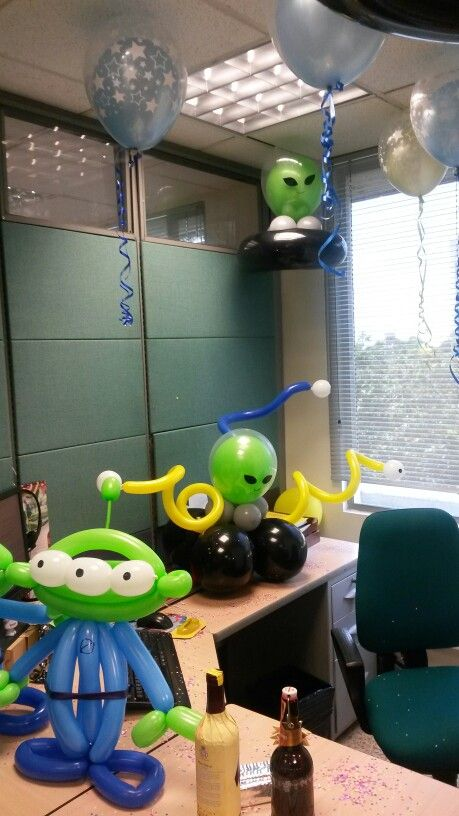 Decoraci n de cumplea os extraterrestre alien birthday for Todo ideas originales para decorar