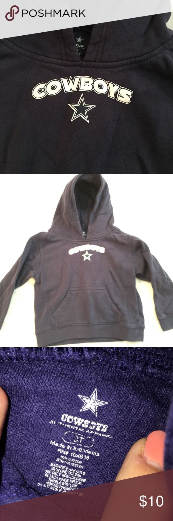 Dallas Cowboy hoodie sweatshirt size 3T Dallas Cowboy Jodie sweatshirt size 3T Shirts & Tops Sweatshirts & Hoodies