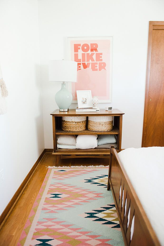 A Peek Inside Our Own Carrie Waller's Mid-Century Mod Home | Glitter Guide