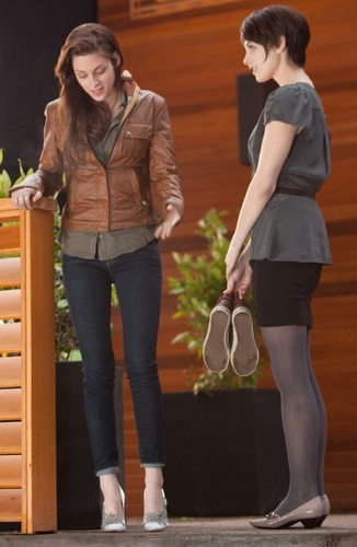 """""""I have beeen breaking them in- for three days."""" -Bella Swan, Breaking Dawn Part 1"""