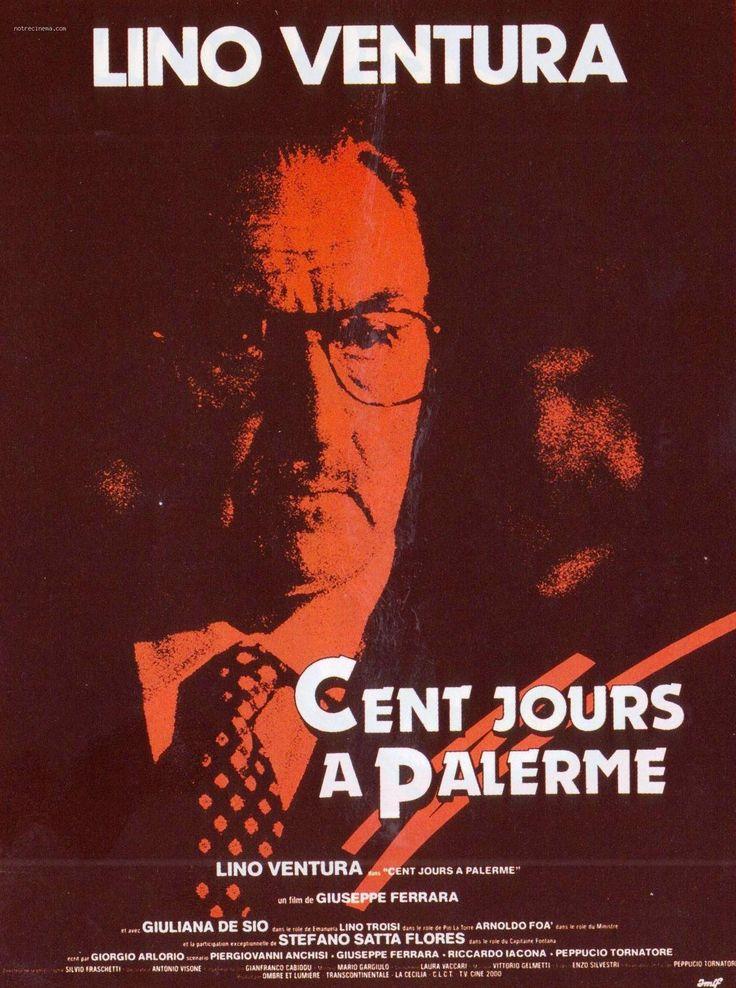 """Cento giorni a Palermo"" (1984-'86); regia: Giuseppe Ferrara. Titolo francese: ""Cent jours à Palerme""; titolo tedesco: ""Die hundert Tage von Palermo"""