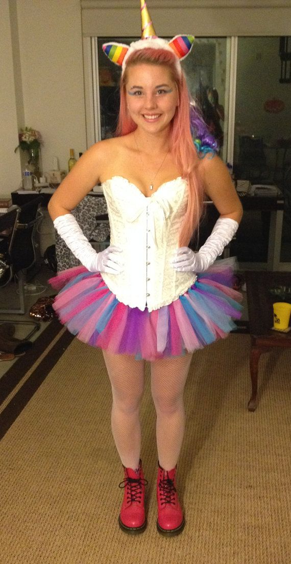Unicorn Tutu Adult Tutu Teen Tutu Halloween by MoxxieCouture
