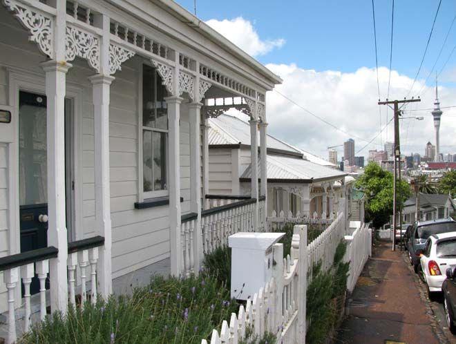 Restored villa, Freemans Bay