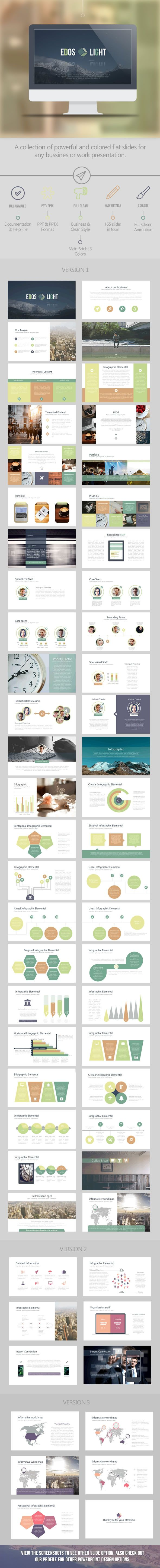 Edos Light Business - Business PowerPoint Templates