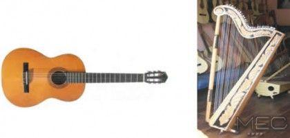 Image result for guitarra y arpa paraguaya