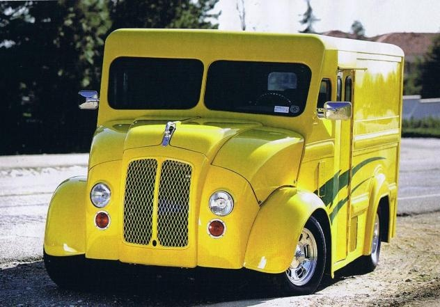 1946 Yellow Delivery Truck Sexy Beautiful Trucks
