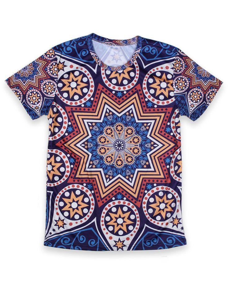 India Pattern T-Shirt