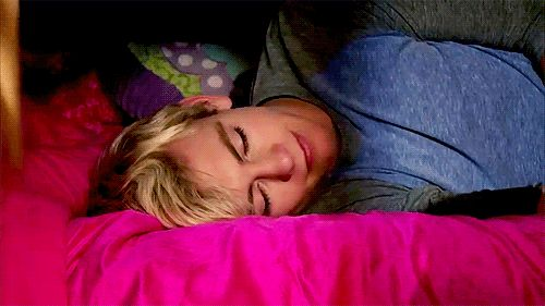 imagine  you wake up after a crazy party. all you can remember is that you went to an R5 concert and then blacked out. at first your sad cause you don't remember what seeing R5 in person was like. but then you roll over and see this. -R.R.R