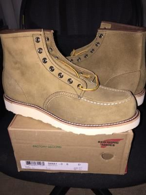 Red Wing Factory Second 8881 D 08.0 - 41 - 26cm - 2343801 - November 2016