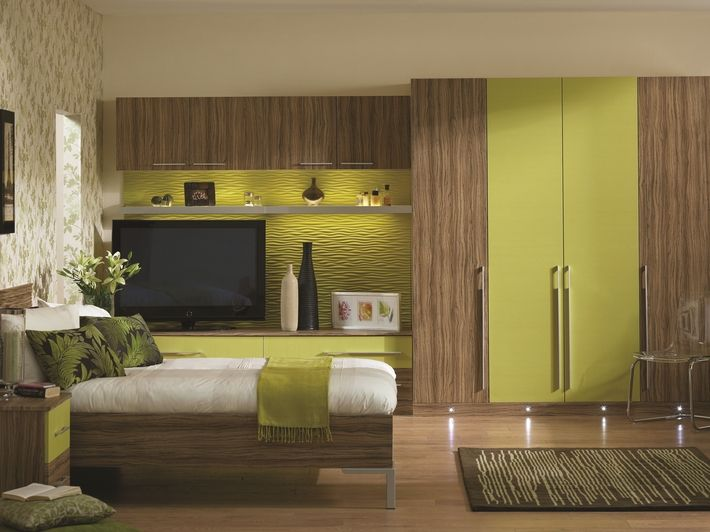 A refreshingly green and citrus colour scheme that begs to be admired.