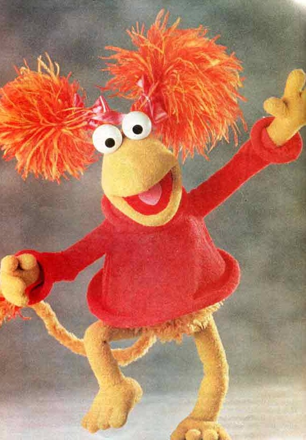 Red from fraggle rock!!!! Laurens's all time best ever fraggle!!!!!!! :D