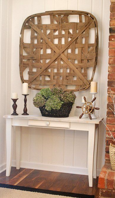 Wall Baskets Decor 1961 best home decor images on pinterest | farmhouse style, home