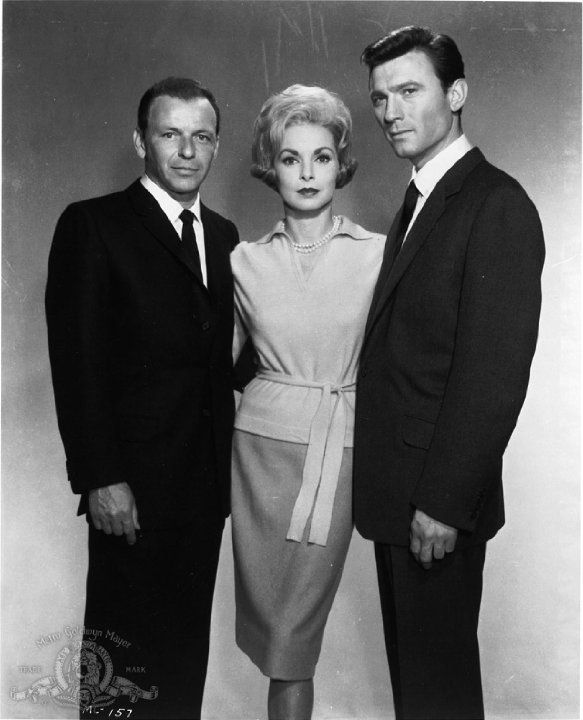 #Sixties | Promotional still of Frank Sinatra, Janet Leigh and Laurence Harvey for The Manchurian Candidate, 1962