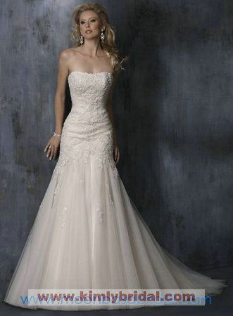 Discount Maggie Sottero Bridal Gowns - Style Anniston S5240 - $344.00