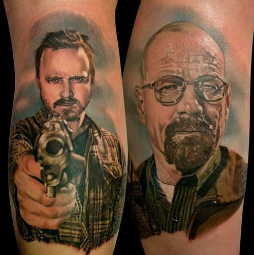 ....WHAT? THIS IS AWESOME!! :D I'd never ever get this done, but this is so badass!! I freaking love Breaking Bad!!
