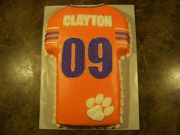 Best Images About My Cakes On Pinterest Twin Baby Showers - Clemson birthday cakes