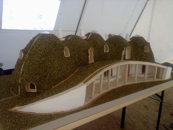 Earthbag Dome House | Romania Earthbag Dome JOY Project