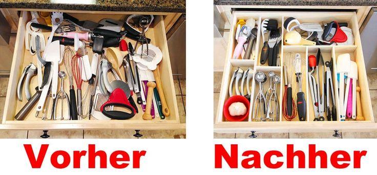 Schublade Organisieren In Nur 15 Minuten Kuchenschubladen