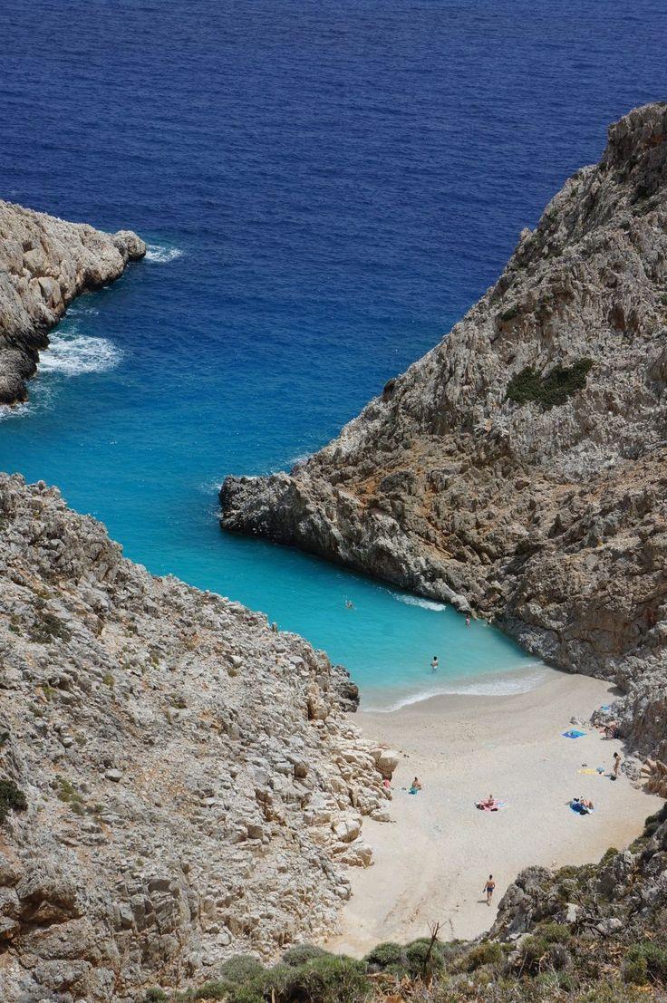 Kreta's smukkeste strand : Stefanou Beach / Seitan Limania