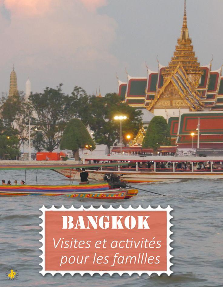 Idées de visites et activités à faire à Bangkok en famille lors d'un voyage