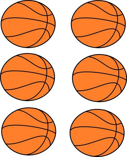 basketball clipart free printable | Basketball Boarder Clip Art at Clker.com - vector clip art online ...