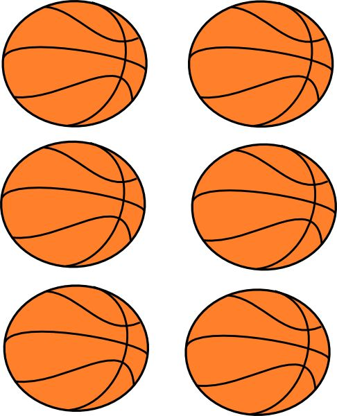 basketball clipart free printable | Basketball Boarder Clip Art at Clker.com - vector clip art online ...