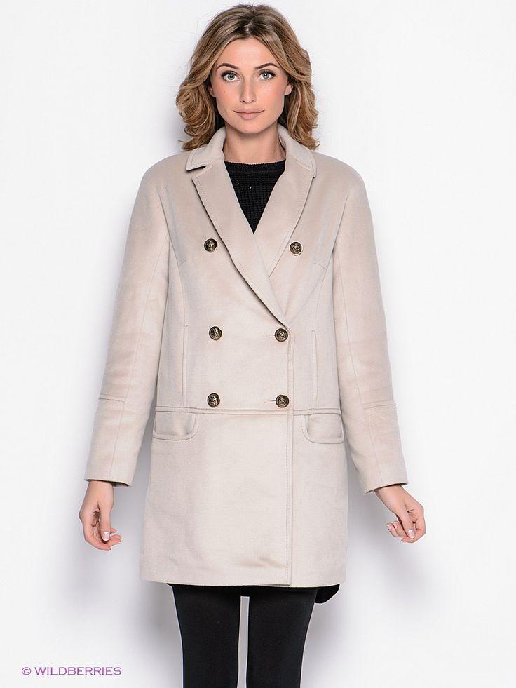 Пальто Malinardi. Цвет темно-синий.