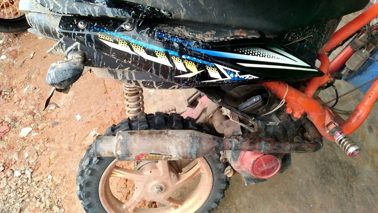 matic motocross yamaha x ride modification - new dirt bike generation