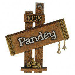 Pandey Name Plate