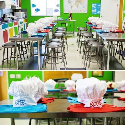 17 best images about kid 39 s party favors decorations on for Chef themed kitchen ideas
