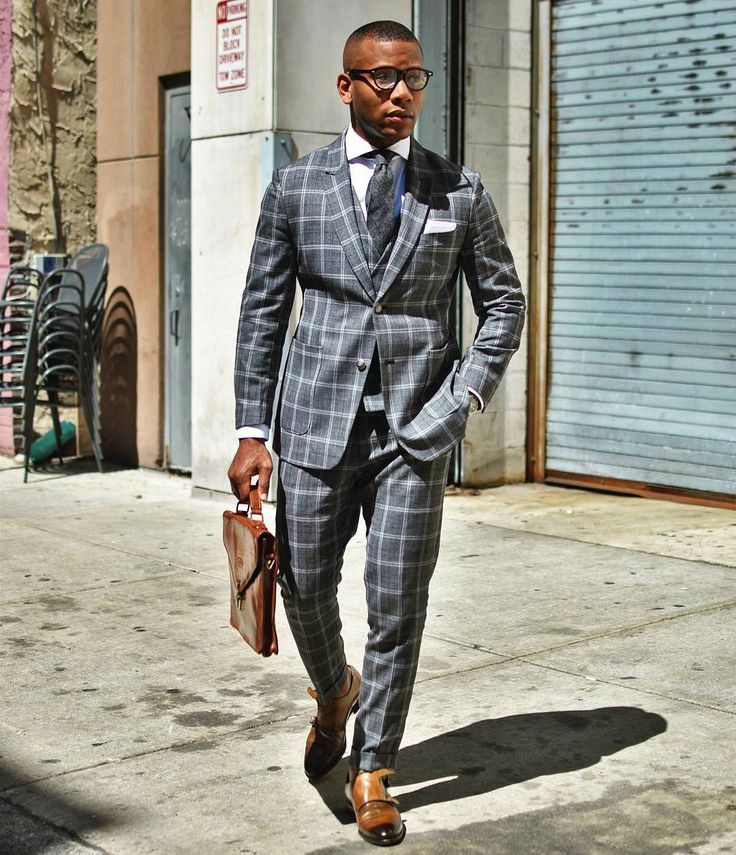 """Steal the look of Sabir @mensstylepro. Choose """"Camrose"""" fabric when customizing your own made to measure suit. http://Tailor4less.com"""