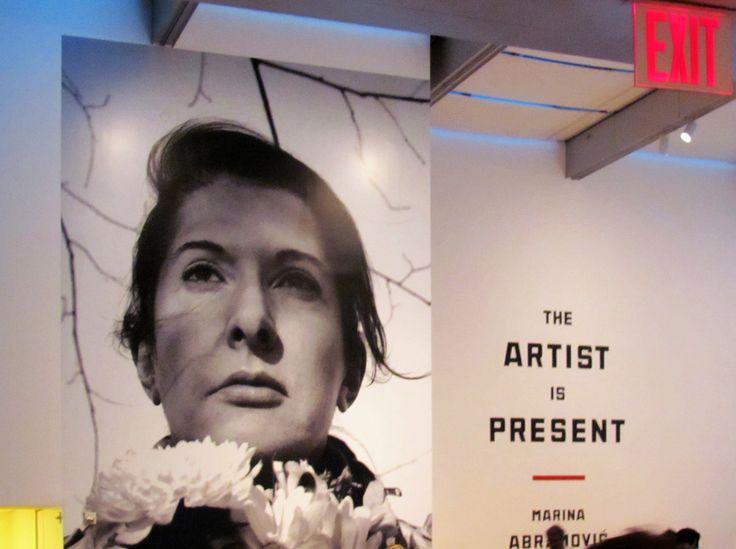 MARINA ABRAMOVIC. The artist is present. MOMA, New York, 2010.