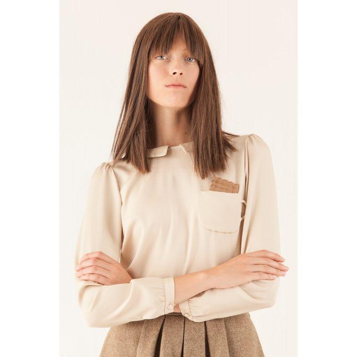 Camicia con tazzina e biscotto Abbigliamento Donna Made in Italy
