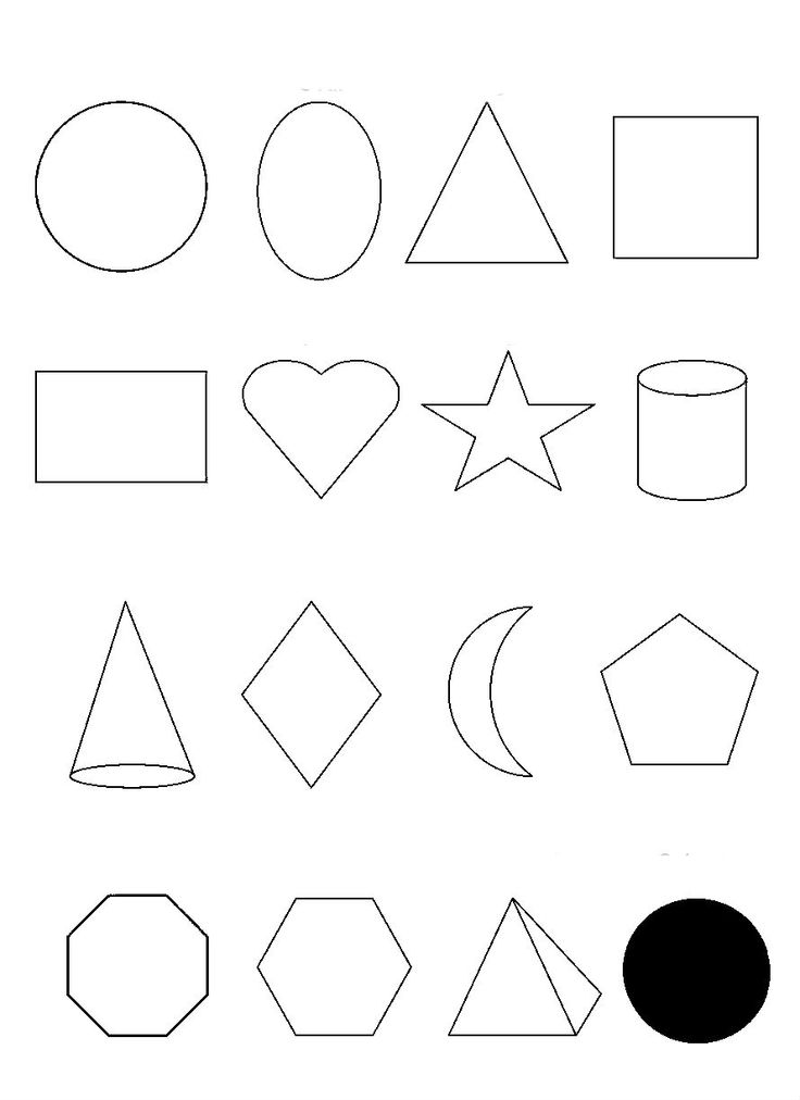 Oval Shapes And Others