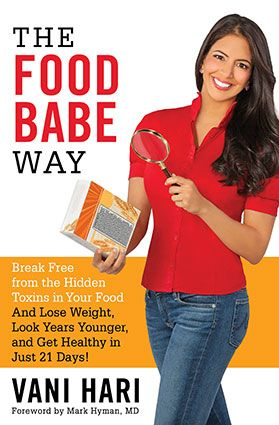 The Food Babe, Vani Hari, is the author of a new book called The Food Babe Way. I've sat down to interview her about her food investigations, GMO's in processed foods, and changes to the food industry in America.