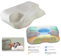 cpap sleep apnea pillow designed to fit the device need to get my husband one