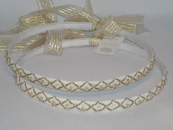 Ancient Greek Style Stefana, $92.00 at the Greek Wedding Shop ~ http://www.greekweddingshop.com/