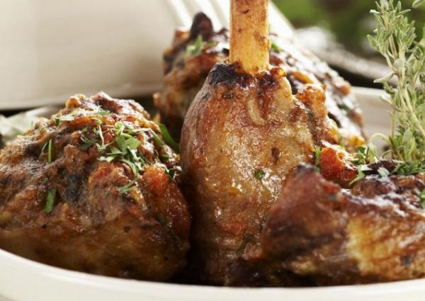 Lamb shanks with Rosemary and Mashed Potato | Recipes ...