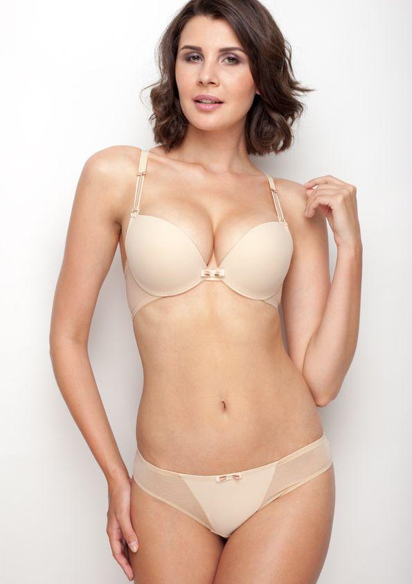 Samanta lingerie - New collection Heka beige bra: A479 pants: M200 www.samanta.eu