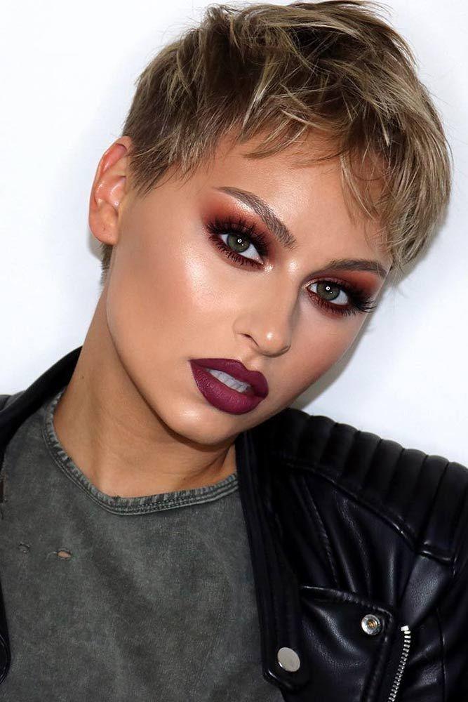 Pixie Cut Makeup